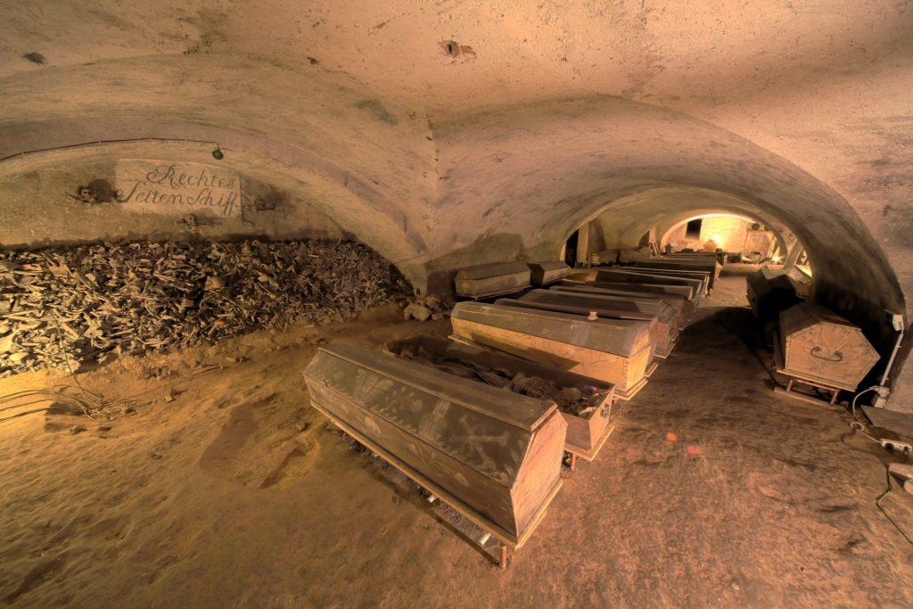 St. Michael's Mummies In Vienna Austria