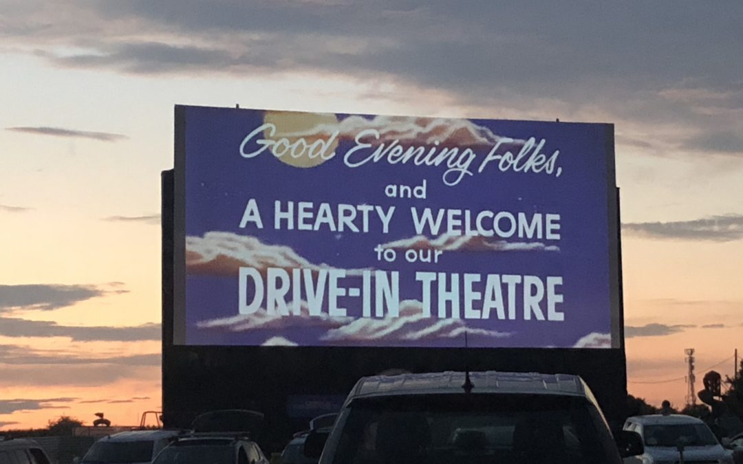 It's 2020. Let's all go to the Drive-In?