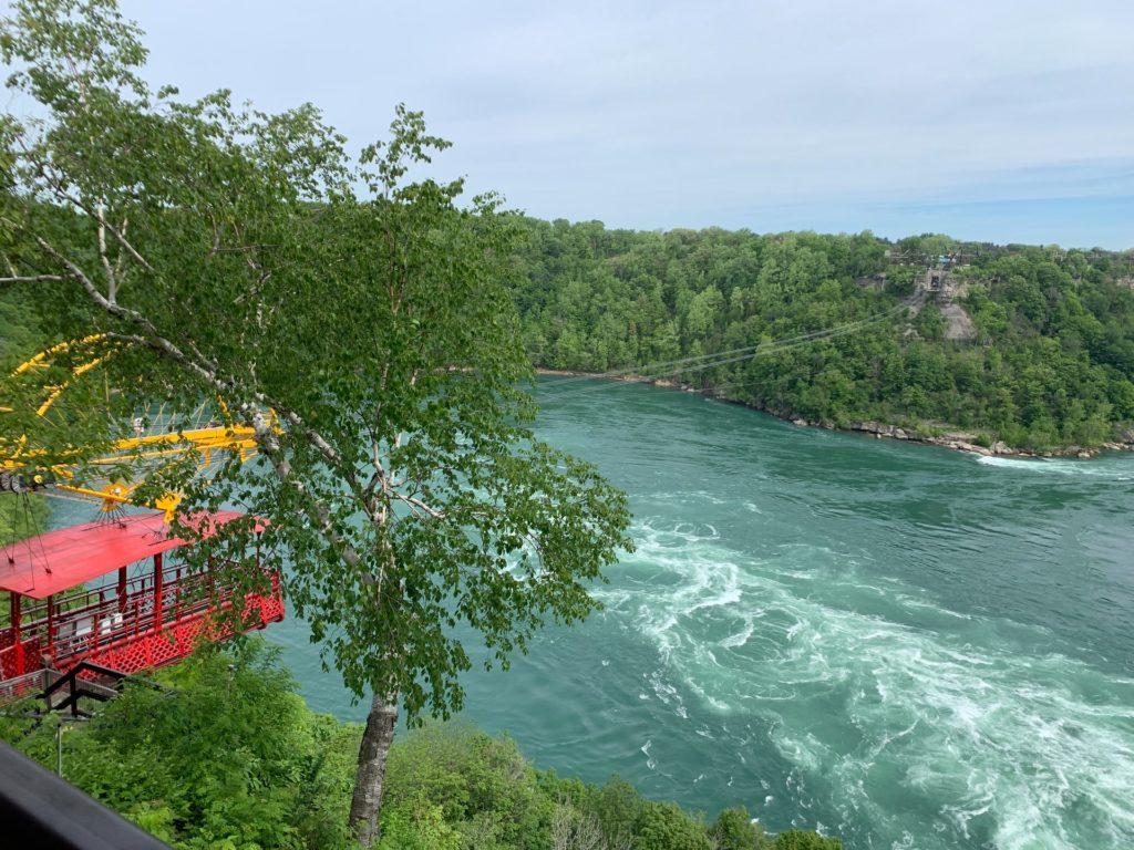 AeroCar cable car over Niagara Whirlpool