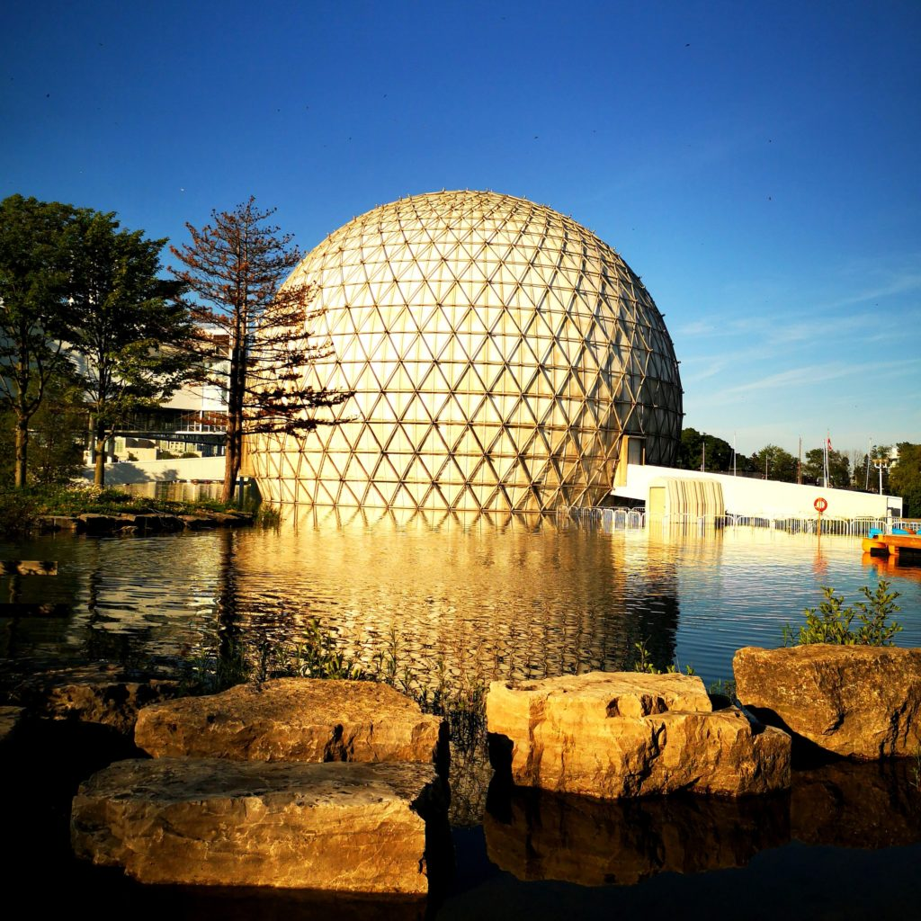 Cinesphere at Ontario Place in Toronto