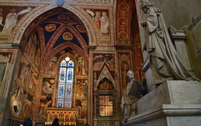 The burials of Santa Croce Basilica in Florence